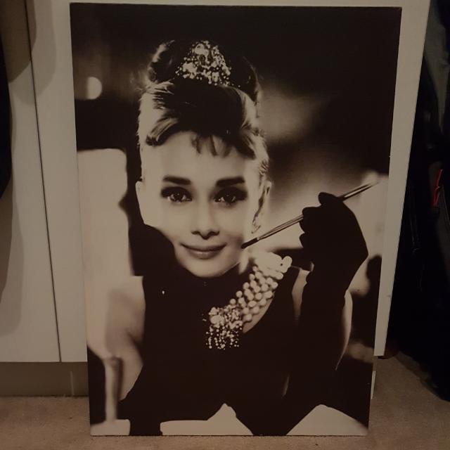 Audrey Heburn Canvas
