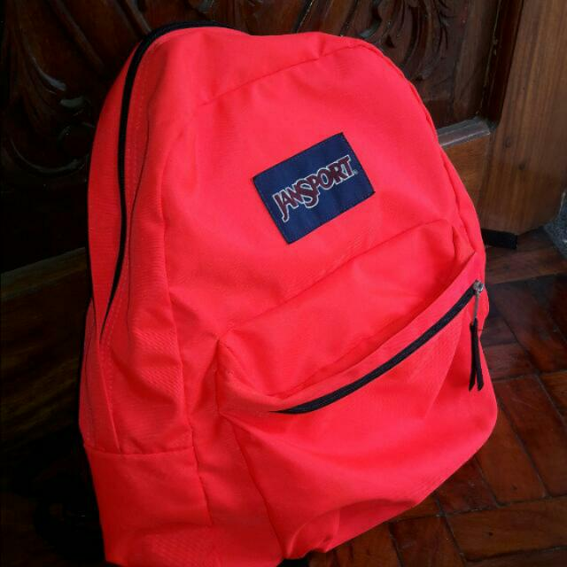 Authentic Neon Pink Jansport