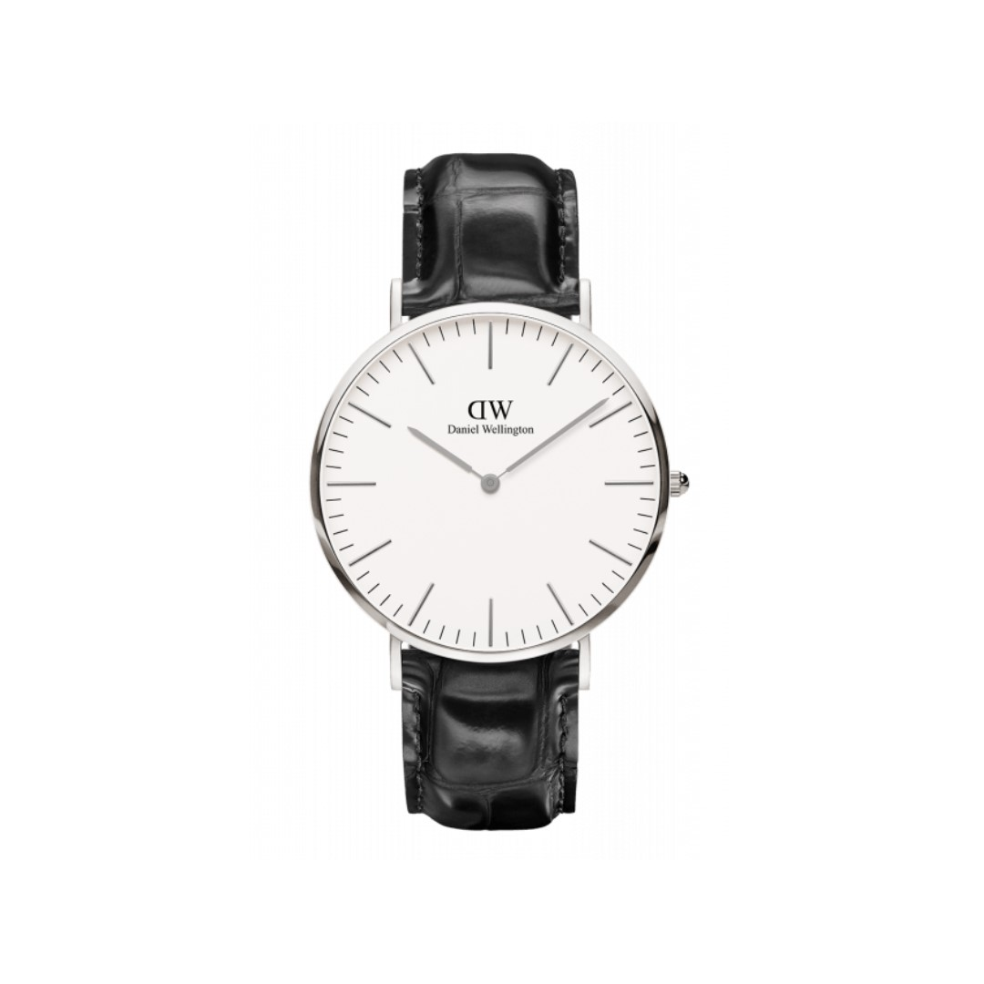 Authentic/Legic/Original Daniel Wellington Classic Reading 40mm Silver Watch