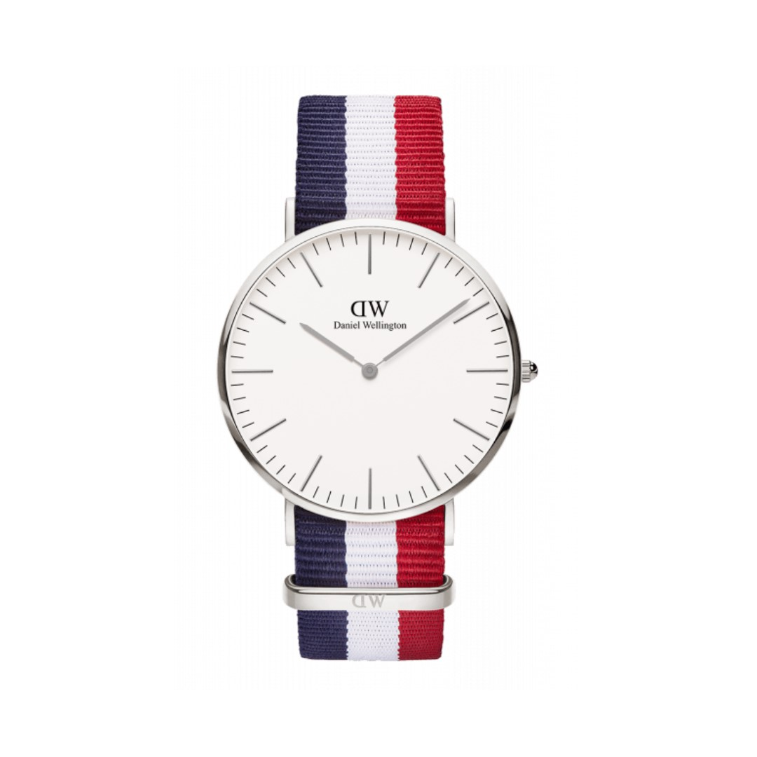 Authentic/Legit/Original Daniel Wellington Classic Cambridge 40mm Silver Watch