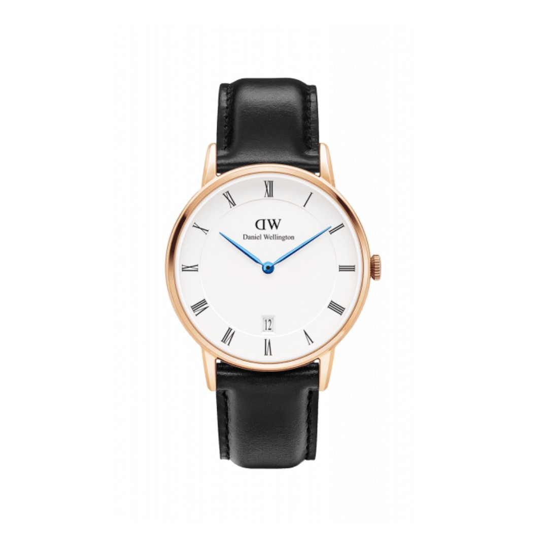 Authentic/Legit/Original Daniel Wellington Dapper Sheffield 34mm Rosegold Watch