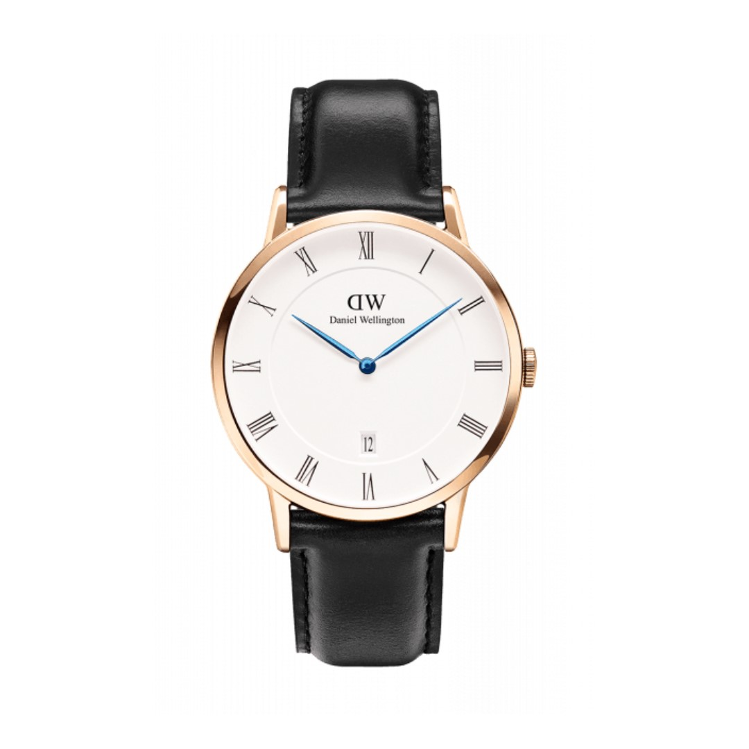 Authentic/legit/Original Daniel Wellington Dapper Sheffield 38mm Rosegold Watch