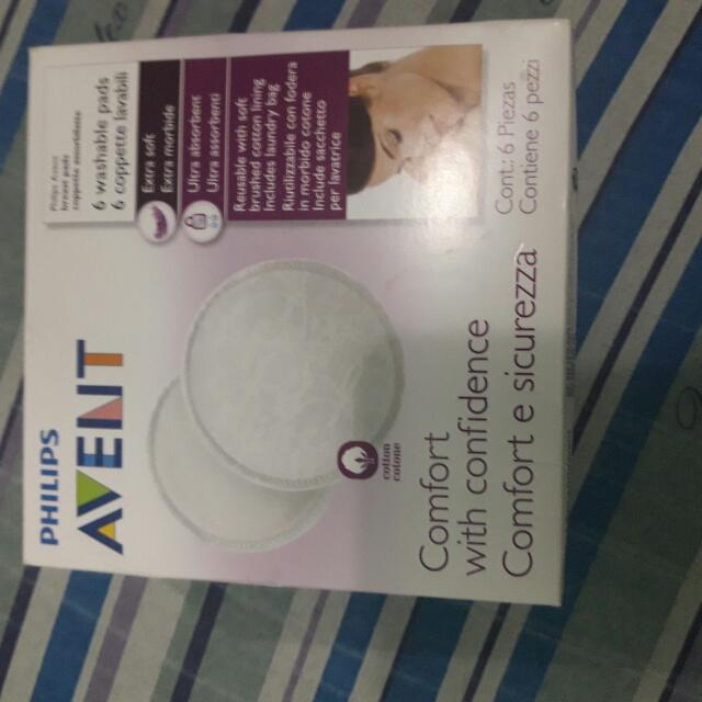 avent washable breastpad