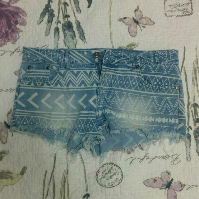 Aztec printed shorts from bluenotes