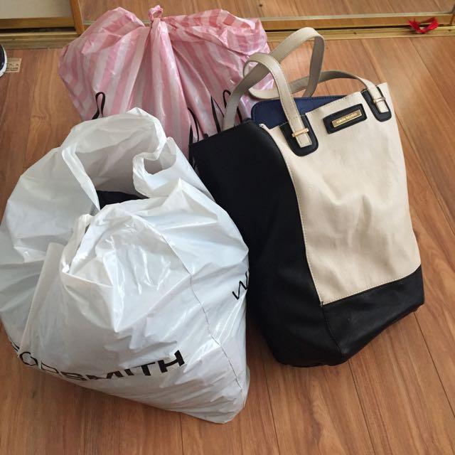 Bag Of Half My Wardrobe
