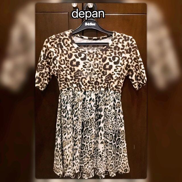 Baju Atasan Leopard