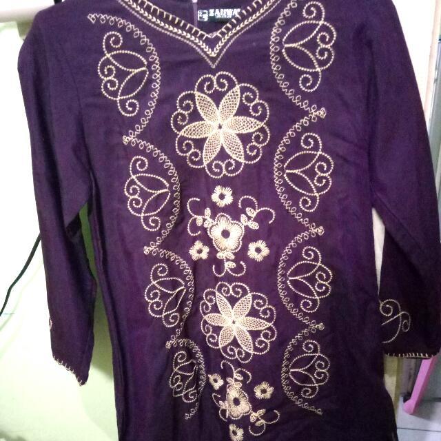 Baju Muslim Warna Ungu