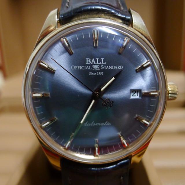 Ball 波爾 18k金 非 Longines Omega Oris Chopard Rolex