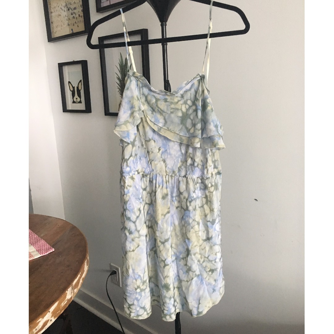 Beautiful silk summer dress, size L