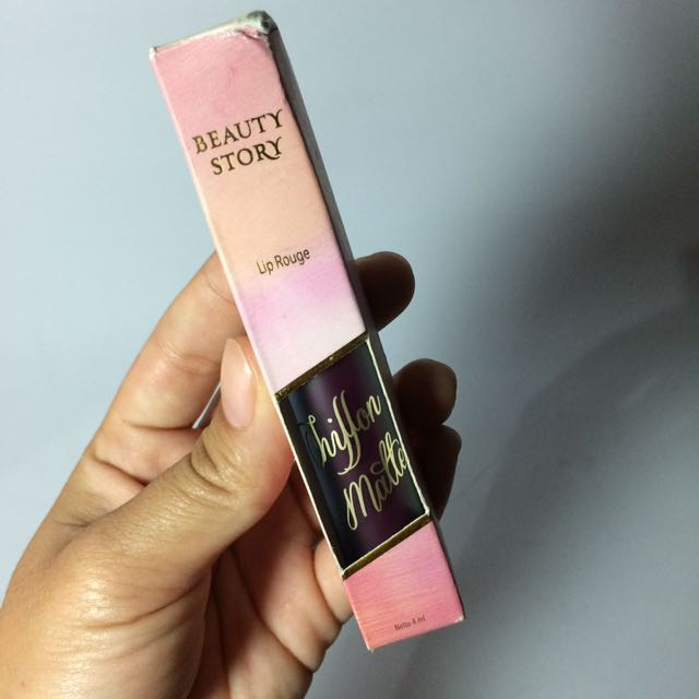 BEAUTY STORY LIPCREAM WARNA BERRY HAPPY
