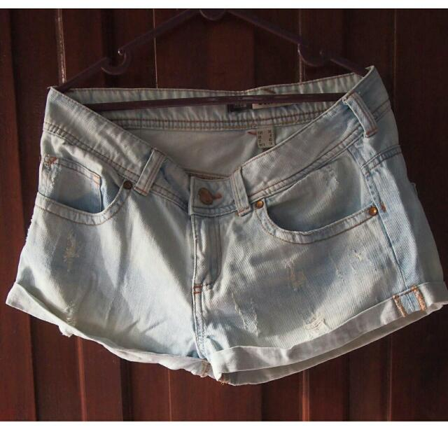 Bershka denim short