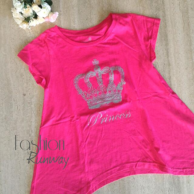 DISKON Big Layer Fuschia T Shirt