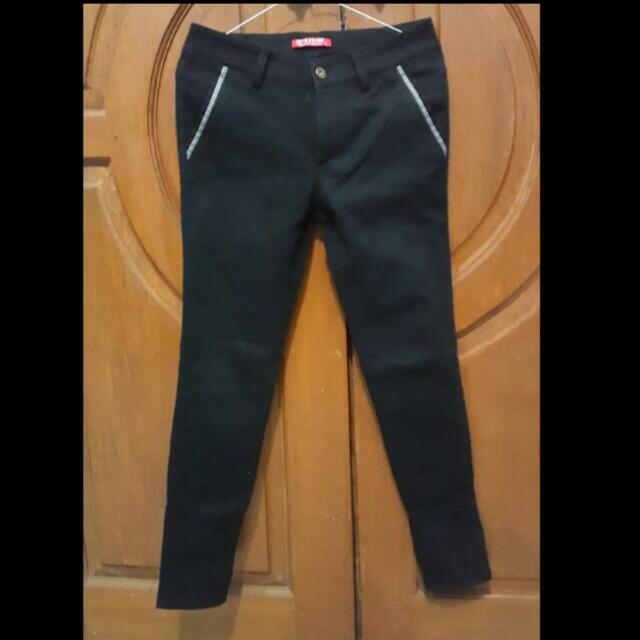 bLack Long pants / ceLana panjang hitam