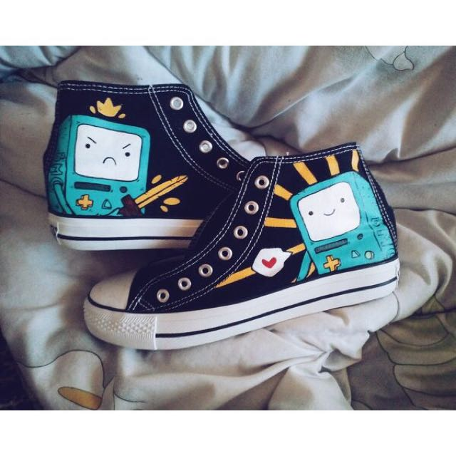 Bmo Hand Painted Shoes