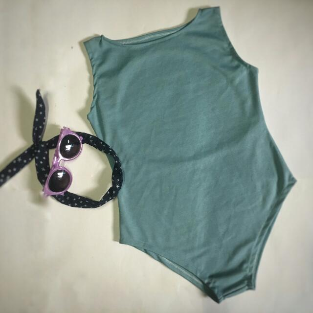 Body Suit Green