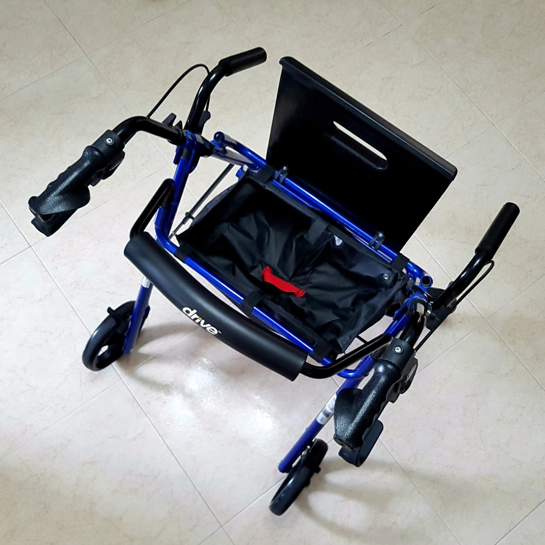Brand New Drive Medical Duet Rollator cum Pushchair (Blue) selling ...