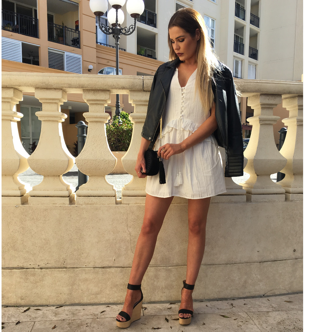 Brand New MVN the label white dress