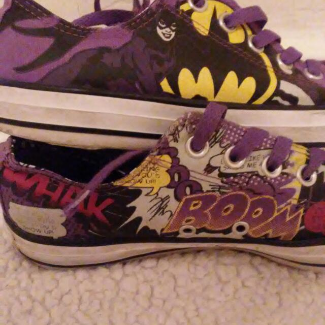 Catwoman Converses
