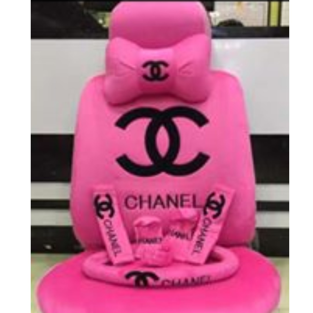 Phenomenal Chanel Car Seat Cover On Carousell Pdpeps Interior Chair Design Pdpepsorg
