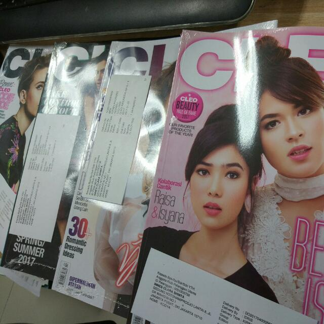 Cleo 4 Edisi Feb-Maret 2017 Segel. Harga Baru 42000