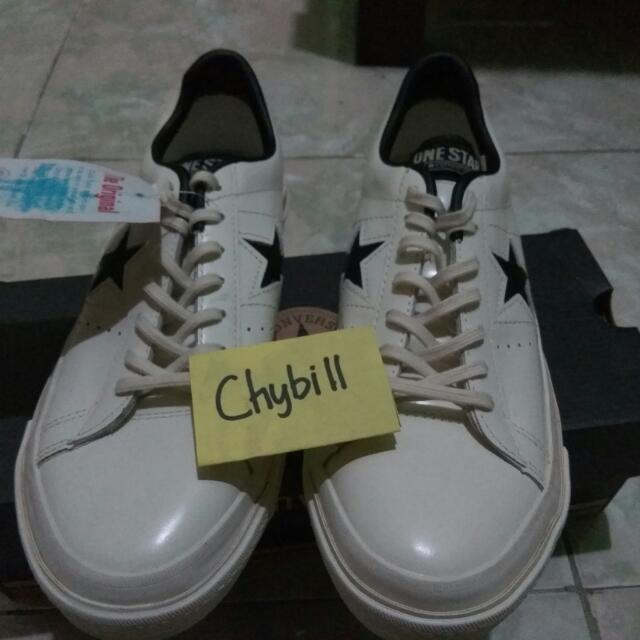 f1772d5517f7 Converse One Star Leather White Size 40