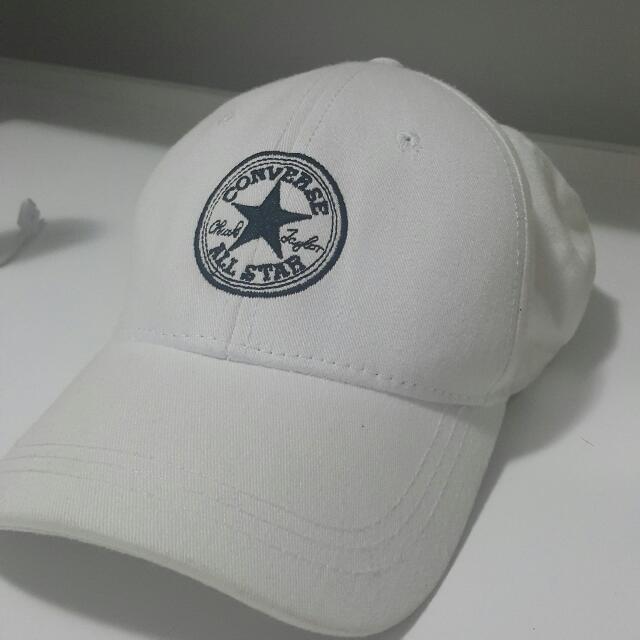 Converse White Hat