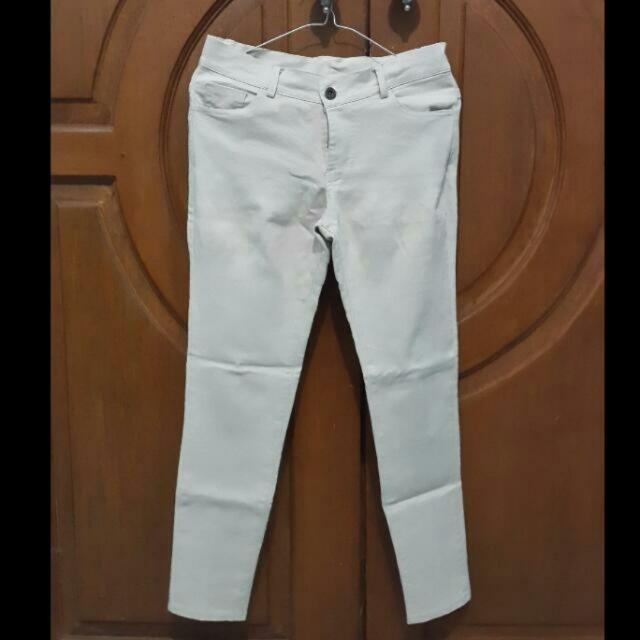 cream Long pants / ceLana panjang