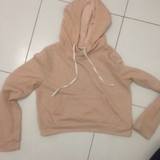 cropped hoodie- forever 21