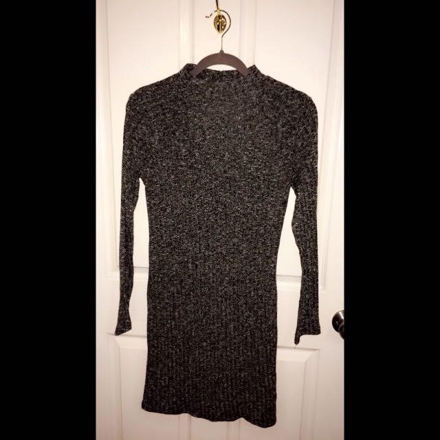 Dark Grey Dress Size M