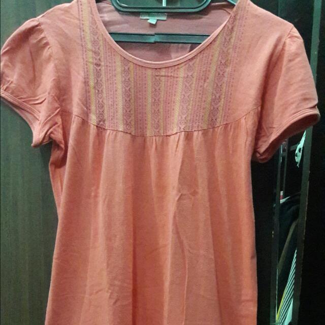 Dress Selutut (Pink)