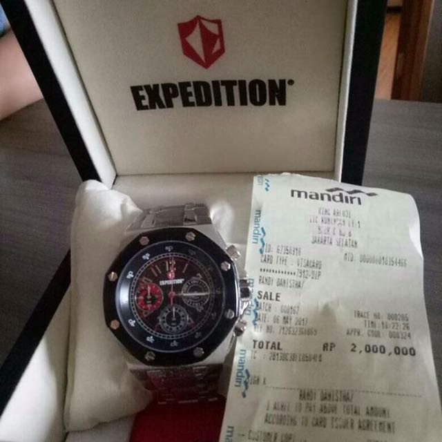 Expedition Arloji Silver