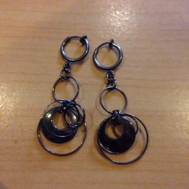 Fake earrings