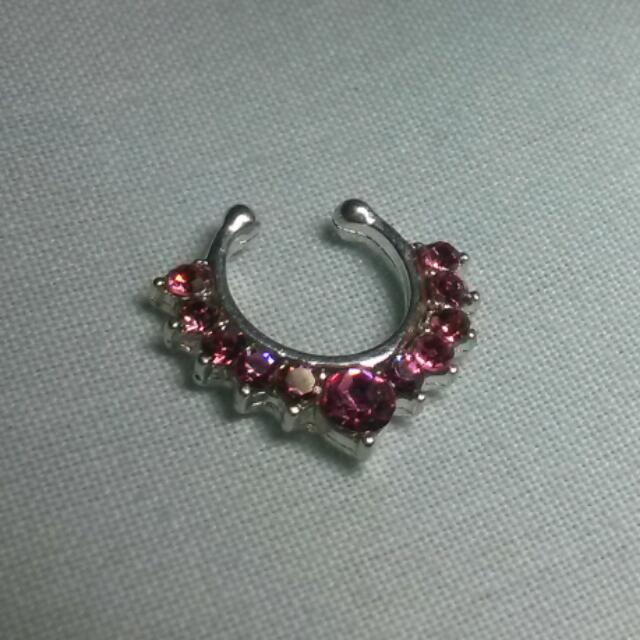 FAUX SEPTUM RING