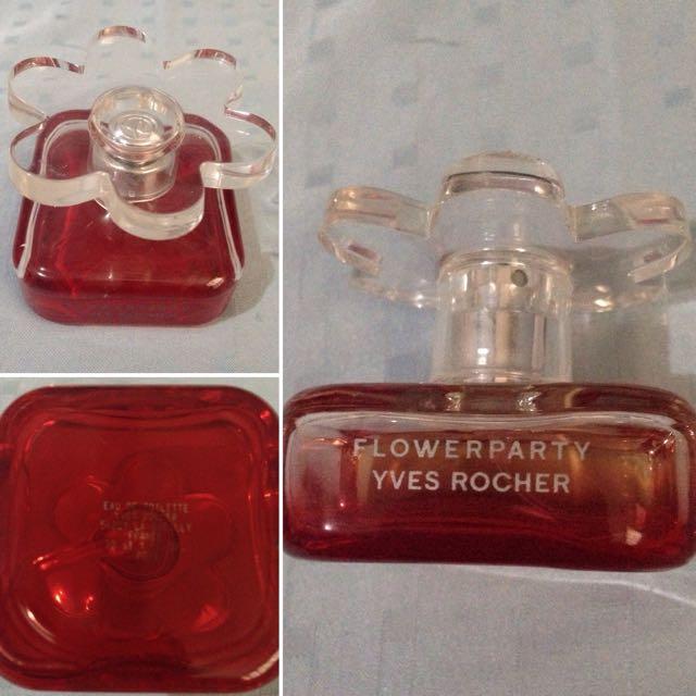 FLOWERPARTY YVES ROCHER 30mL Bottle