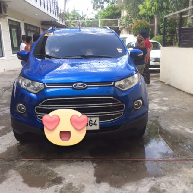 FORD ECOSPORT 2014 (titanuim) A/T