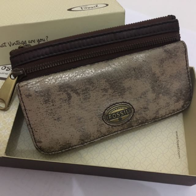 Fossil Washed Wallet