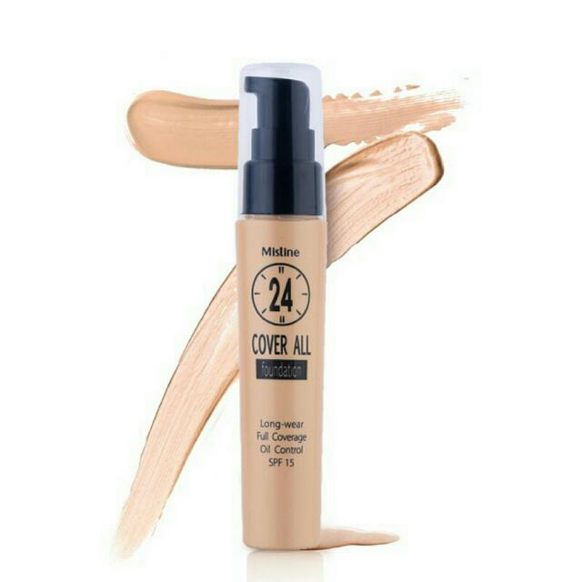 [FRM THAILAND]Mistine 24 Cover All Foundation SPF15pa+++