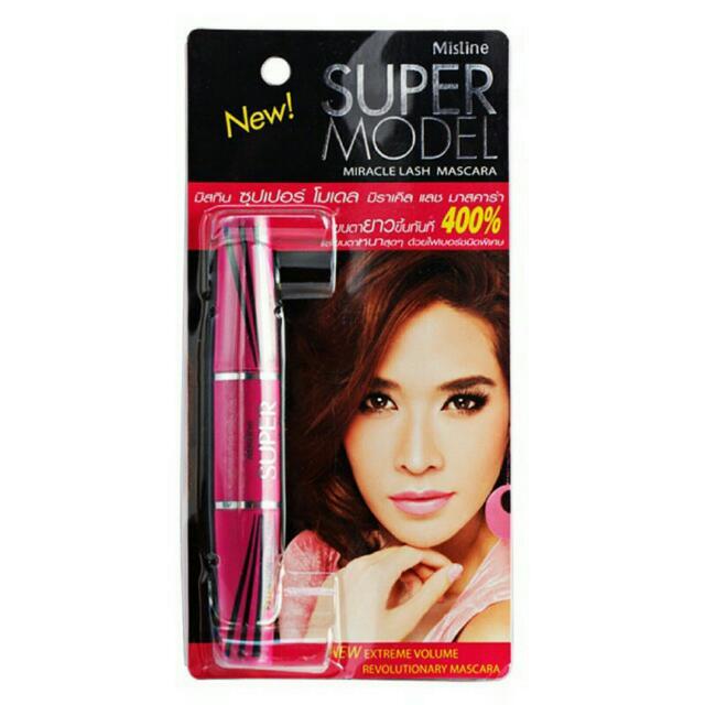 [From THAILAND] Mistine Super Model Miracle Lash Mascara