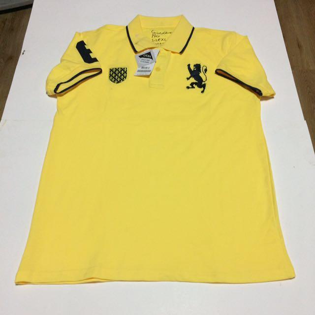 Giordano Original Lion Badge Polo Shirt