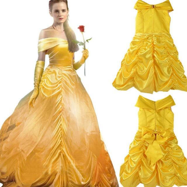 photo photo ...  sc 1 st  Carousell & Girls Princess Belle Halloween Beauty and the Beast Costume Kids ...