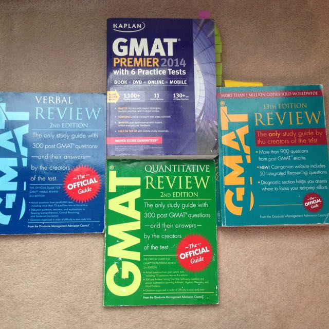 GMAT Books from Kaplan