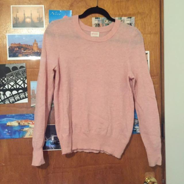 Gorman baby pink mohair jumper.