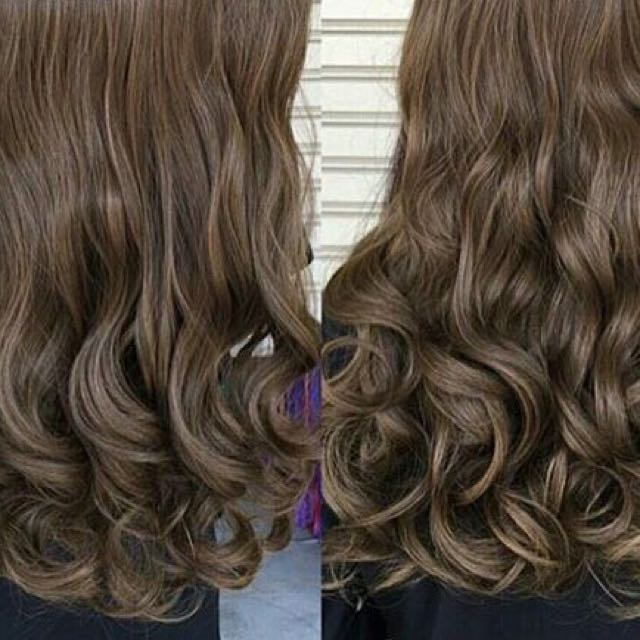 HairClip light brown murah