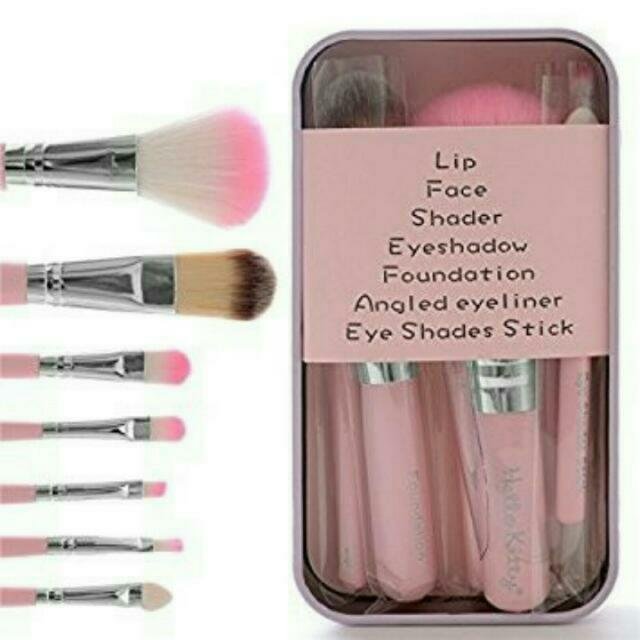 Hello Kitty Pink Brush Set