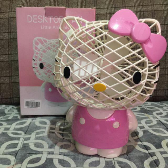 Hello Kitty USB Fan