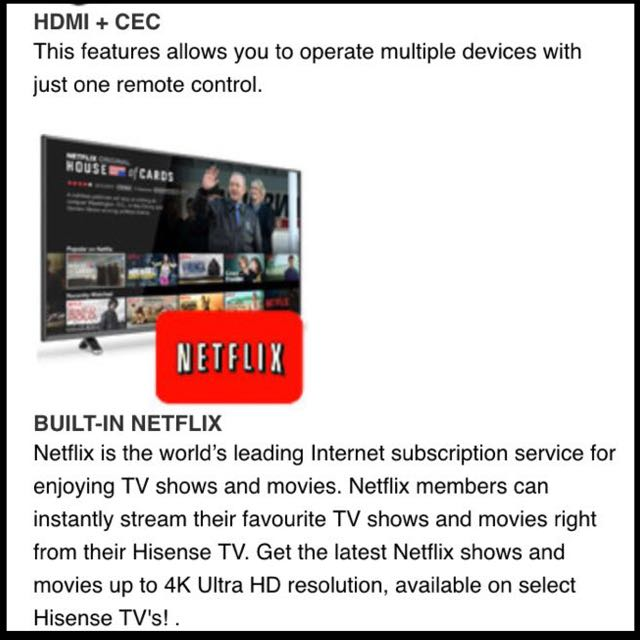 Hisense 49 Inch Full HD LED Smart TV (Free 1 Year Warranty)