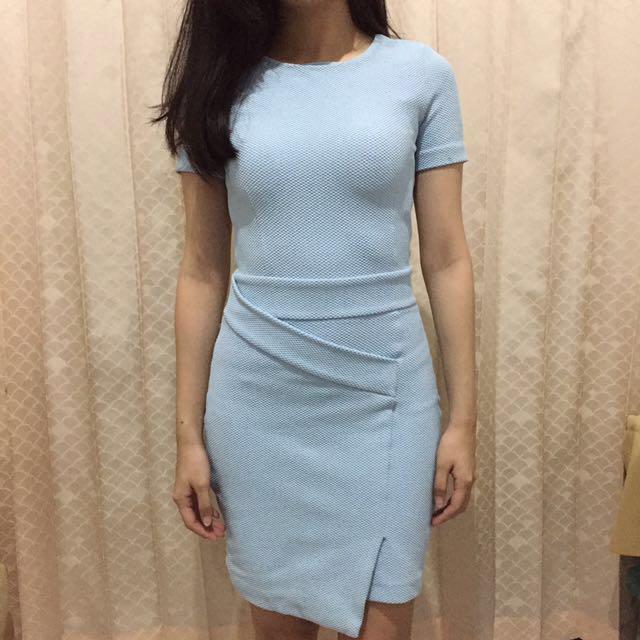 H&M Pastel Blue Dress