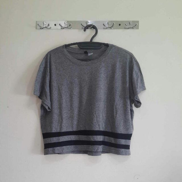 Hnm Crop Shirt
