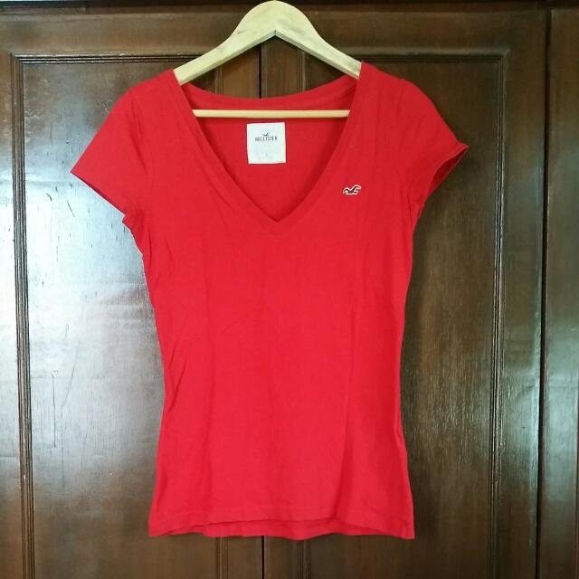 Hollister V Neck Shirt