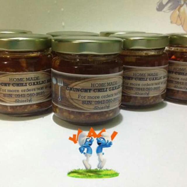 Home Made Crunchy Chili Garlic